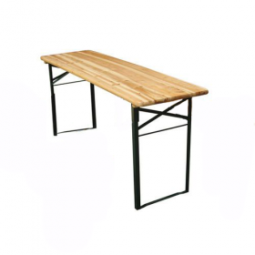Outdoor Adventure 6 Foot Wooden Table