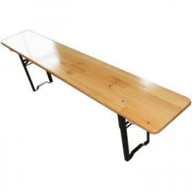 Outdoor Adventure Wooden Bench