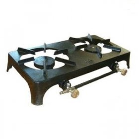 Outdoor Adventure Cast Iron Double Burner