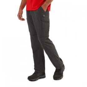Mens NosiLife Convert Trousers - Black Pepper