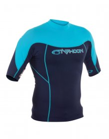Typhoon Short Sleeve Rash Mens Vest