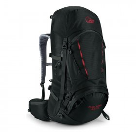 634f981b5e1d 65L Lightweight Travel Rucksack - Black