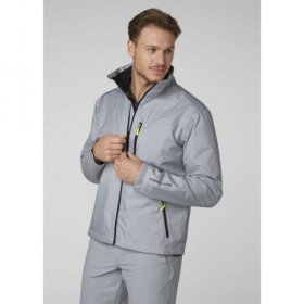 Mens Crew Midlayer Jacket - Grey
