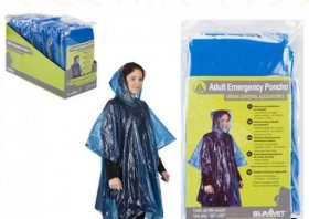 emergency poncho blue summit