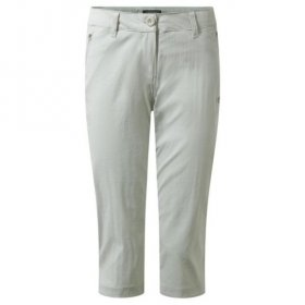 Womens Kiwi Pro Crops - Dove Grey