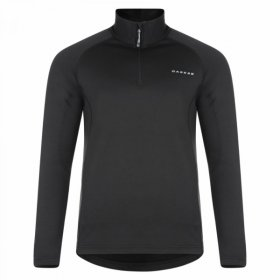 Dare2b Mens Fuseline III Half Zip Fleece - Black