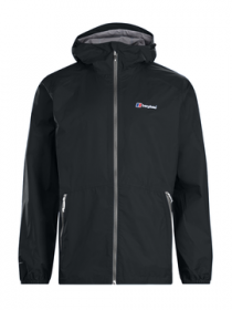 Men's Deluge Light Waterproof Jacket - Black