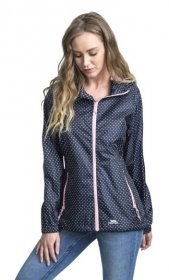Womens Indulge Packaway Jacket - Front