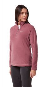 Women's Miska V Half Zip Fleece