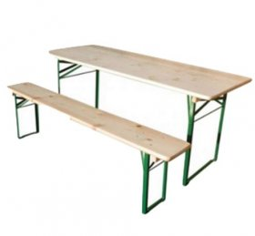 Premium Wooden Table and Bench Set