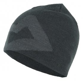 Branded Knitted Beanie - Raven