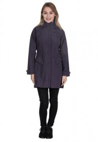 Womens Rainy Day Long Jacket - On
