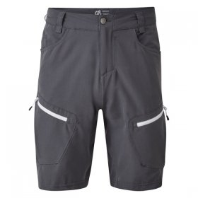 Men's Tuned In II Multi Pocket Walking Shorts - Ebony Grey