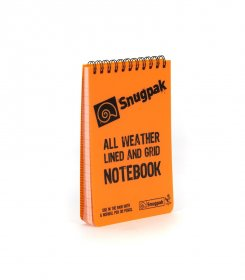 Water Resistant Notepad - Front