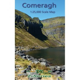 Laminated Comeragh Map