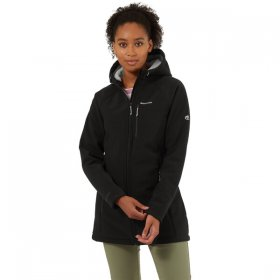 Women's Ara Hooded Jacket - Black