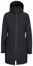 Women's Maria DLX Long Softshell Jacket - Black